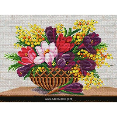 Broderie diamant spring mood de Diamond Painting