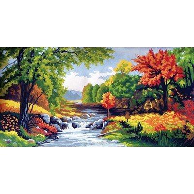 Canevas scène en automne - Collection d'art