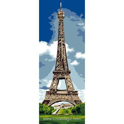 Canevas la tour eiffel de Luc Création