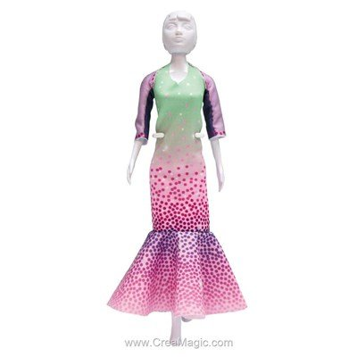 Kit patron billy mint DRESS YOUR DOLL