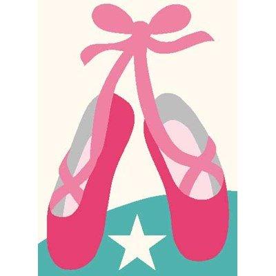 Les chaussons de danse kit canevas enfant - DMC