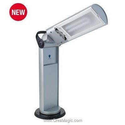 Lampe portative twist gris métal - E33707 de Daylight