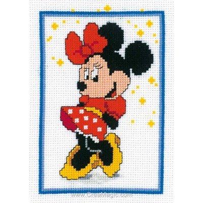 Disney - minnie et les étoiles kit point de croix - Vervaco