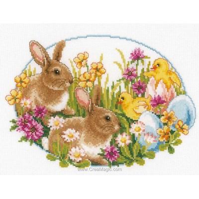 Kit lapins et poussins de Vervaco
