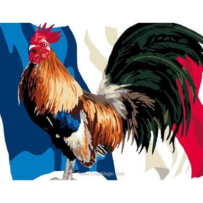 Canevas Luc Création le coq de france
