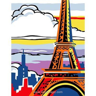 Paris pop canevas chez Margot