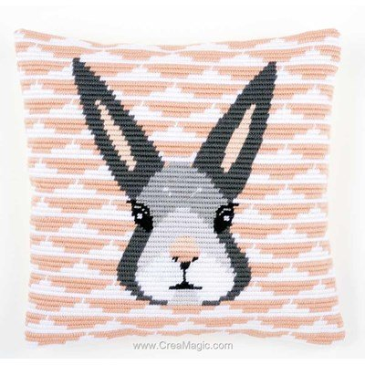 Kit coussin au point gobelin yvonne - La Maison Victor