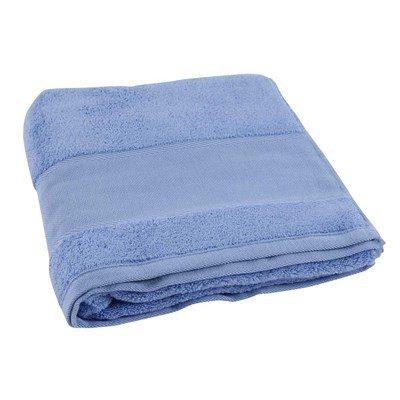 Drap de bain à broder coton 500 g/m2 - bleu méditerranée col 073 de DMC