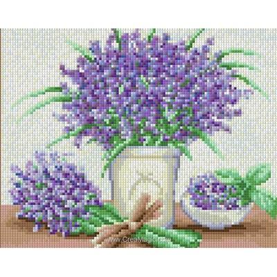 Kit broderie diamant fresh lavender de Diamond Painting