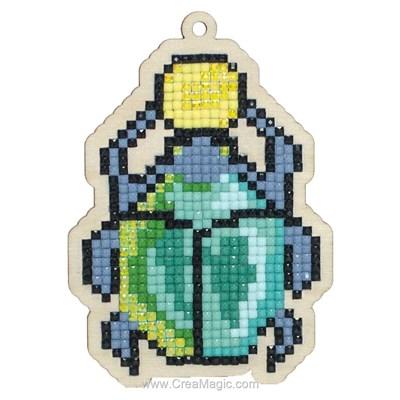 Broderie diamant Wizardi scarabaeus