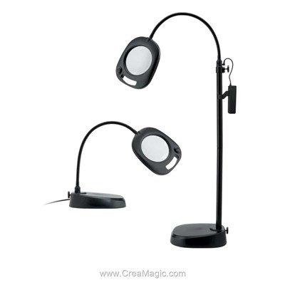 Lampe loupe led sur pied ou table - EN1091 chez Daylight