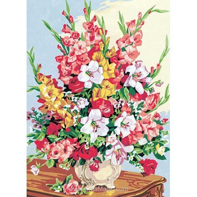 Canevas Bouquet De Gla Euls Seg