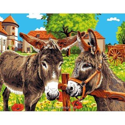 Confession d'ânes canevas - Mimo Verde