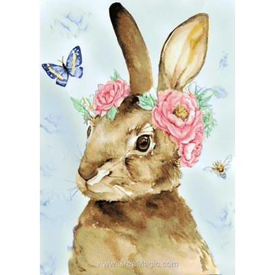 Kit broderie diamant Wizardi easter rabbit