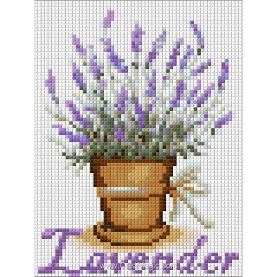 Kit broderie diamant lavender de Diamond Painting