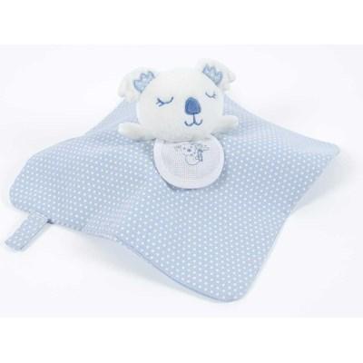 Peluche bébé koala plat bleu à broder - DMC