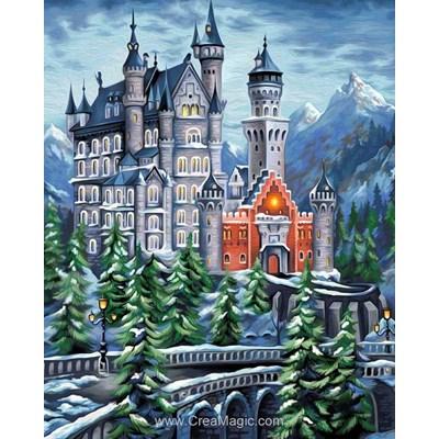 Kit broderie diamant le château mystérieux de Diamond Painting