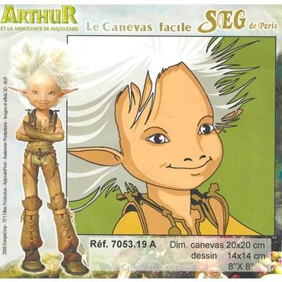 Kit canevas SEG arthur et les minimoys - a