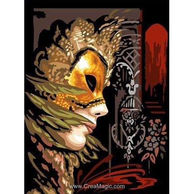 Le masque d'or canevas chez Margot