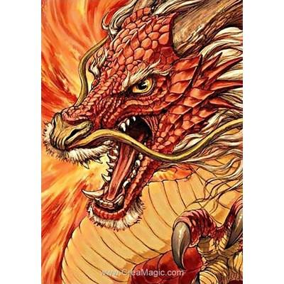Broderie diamant chinese dragon - Wizardi