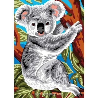 Canevas pause koala - Luc Création
