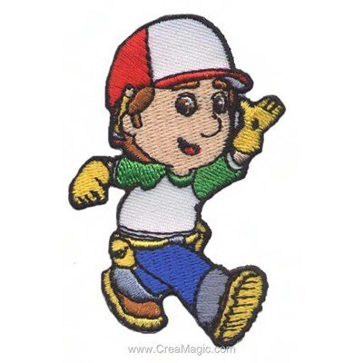 Ecusson thermocollant handy manny toujours prêt - MLWD