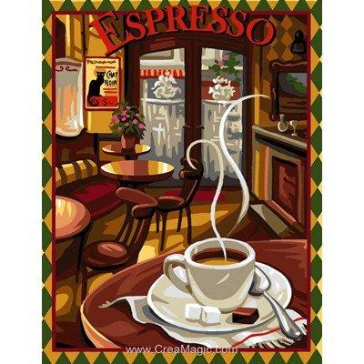 Canevas Rafael Angelot espresso