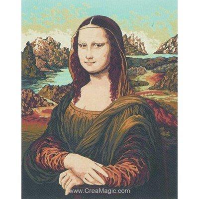 Mona lisa canevas - Collection d'art