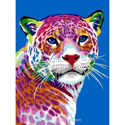 Les motifs du jaguard canevas chez Margot