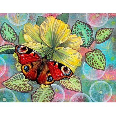 Broderie diamant butterfly de Diamond Painting