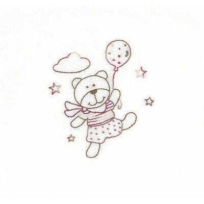 Kit de broderie traditionnelle teddydou joue avec les étoiles - DMC