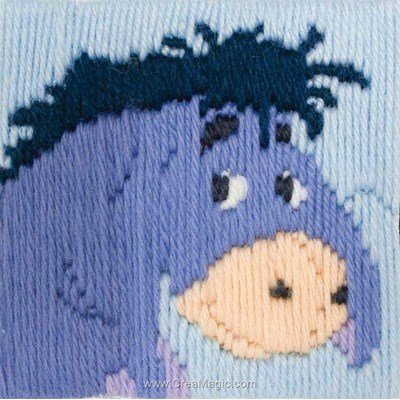 Canevas point lancé eeyore longstitch - Anchor