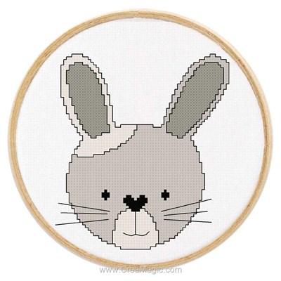 Kit Princesse tableautin petit lapin