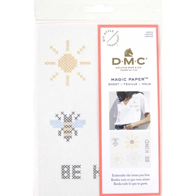 Feuille magique insectes - costum by me ! DMC