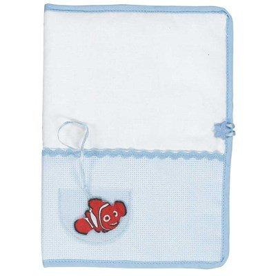 Protège carnet de santé pour bébé DMC à broder disney - nemo
