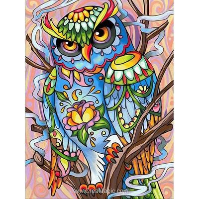Broderie diamant Diamond Painting owl