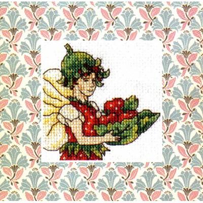 Mini kit DMC la fée fraise
