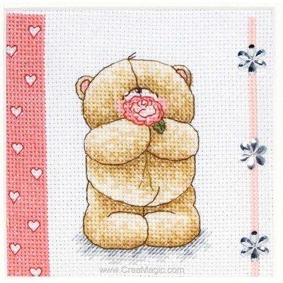 Anchor tableau broderie point de croix hearts & roses
