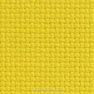 Toile aida 5.5 pts lemon twist - bright ideas - Charles Craft