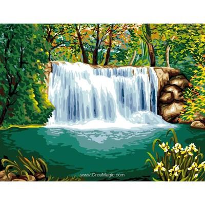 Canevas Luc Création la cascade