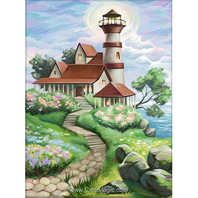 Kit broderie diamant lighthouse de Diamond Painting