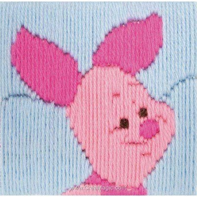 Canevas point lance piglet longstitch - Anchor