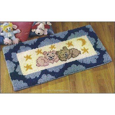 Kit tapis point noue doux rêves de Smyrnalaine