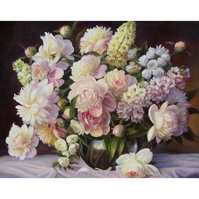 Kit broderie diamant blooming bouquet - Diamond Painting