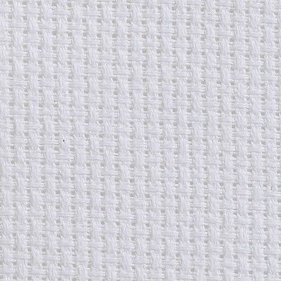 Toile aida 2.4 pts blanc - DMC vierge à broder