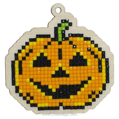 Kit broderie diamant halloween - Wizardi