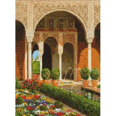 Tableau point de croix le jardin du palais - RIOLIS