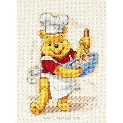 Disney - winnie cuisine kit broderie point de croix - Royal Paris