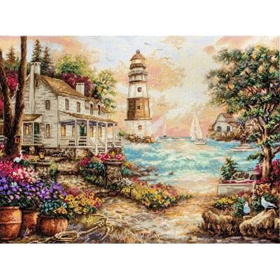 Kit LETISTITCH cottage du bord de mer