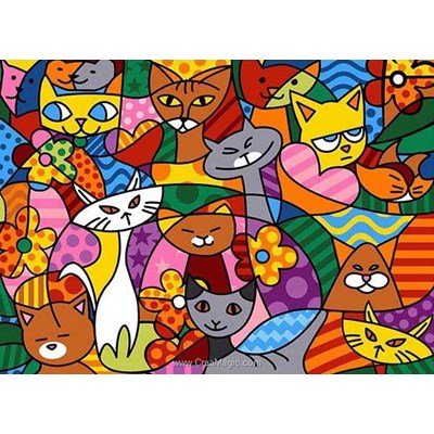 Color cats canevas de SEG